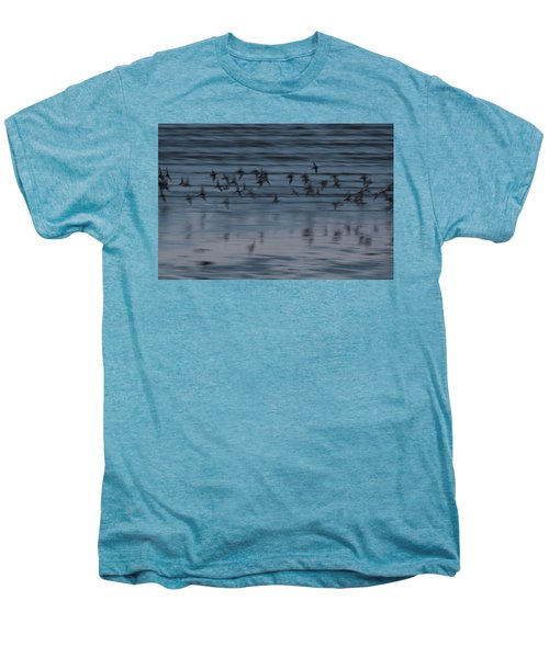 Men's Premium T-Shirt featuring the photograph Evening Abstract by Alex Lapidus
