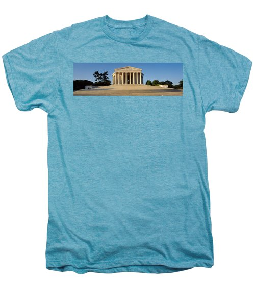 Facade Of A Memorial, Jefferson Men's Premium T-Shirt by Panoramic Images