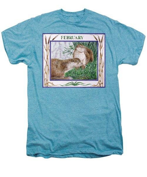 February Wc On Paper Men's Premium T-Shirt by Catherine Bradbury