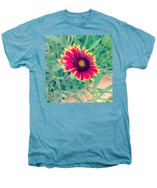Fire Daisy Men's Premium T-Shirt