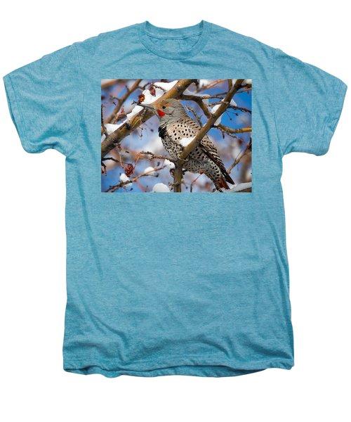 Flicker In Snow Men's Premium T-Shirt