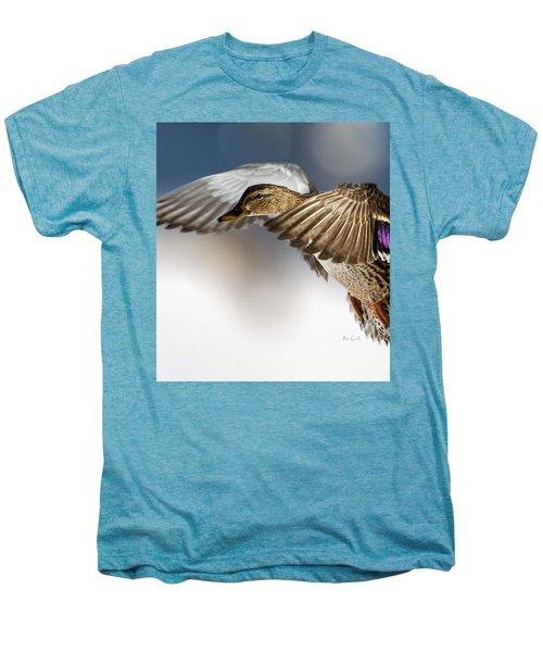 Flight Of The Mallard Men's Premium T-Shirt