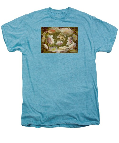 Men's Premium T-Shirt featuring the photograph Flower Drift by Nareeta Martin