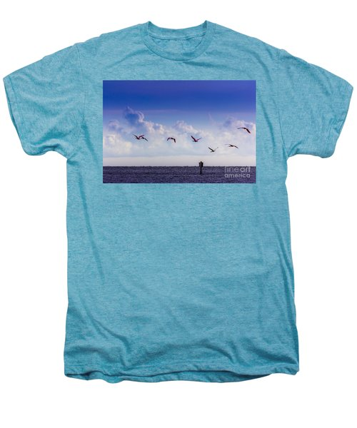 Flying Free Men's Premium T-Shirt by Marvin Spates