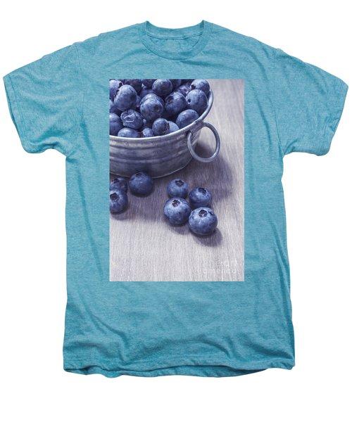 Fresh Picked Blueberries With Vintage Feel Men's Premium T-Shirt