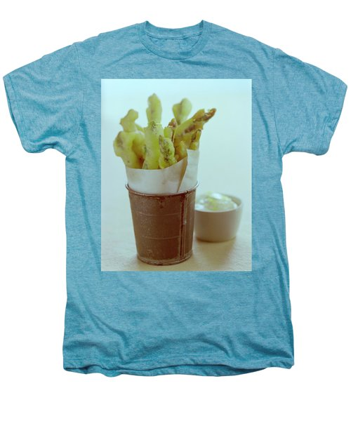 Fried Asparagus Men's Premium T-Shirt