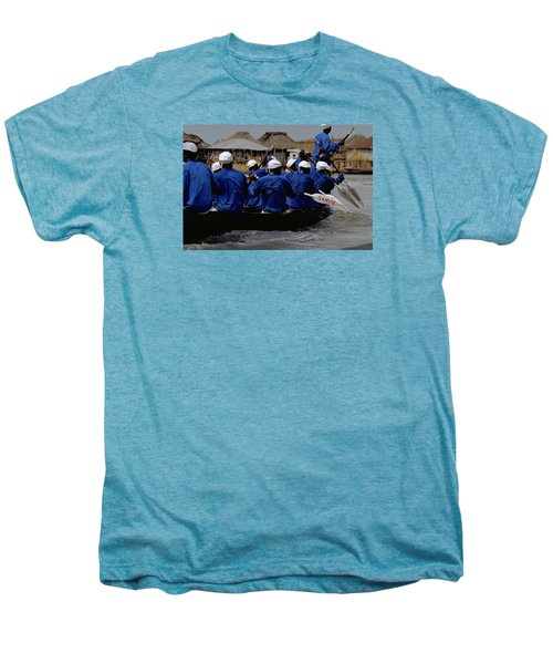 Ganvie - Lake Nokoue Men's Premium T-Shirt