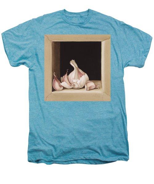 Garlic Men's Premium T-Shirt by Jenny Barron