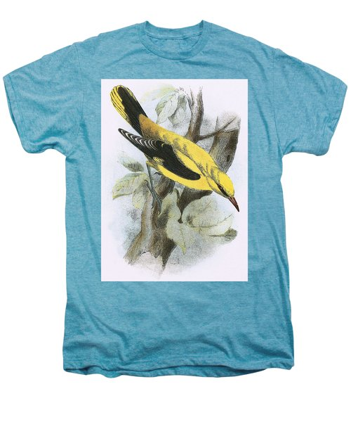 Golden Oriole Men's Premium T-Shirt by English School