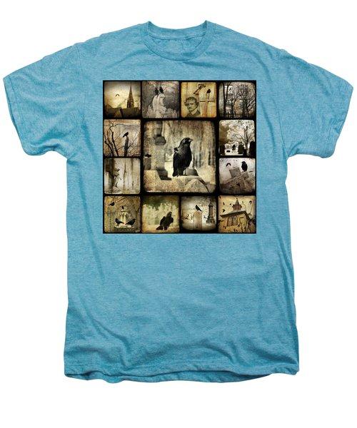 Gothic And Crows Men's Premium T-Shirt
