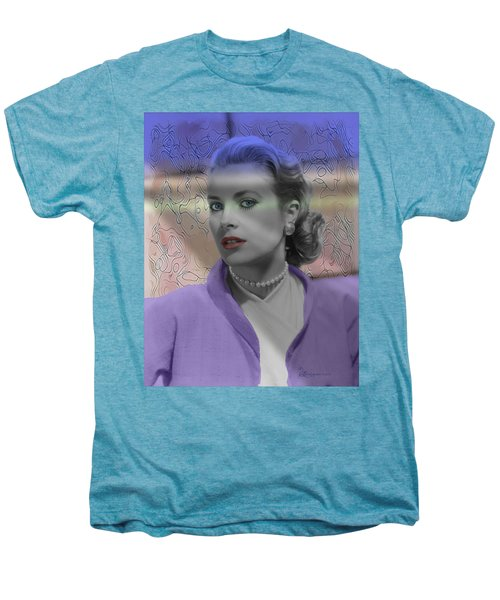 Grace Kelly - Featured In Comfortable Art Group Men's Premium T-Shirt by EricaMaxine  Price