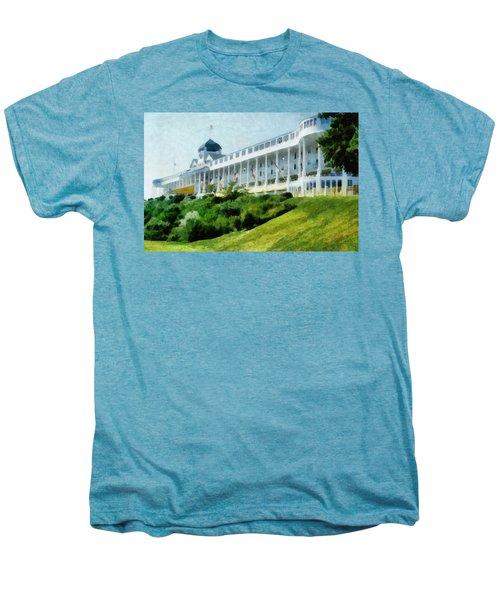 Grand Hotel Mackinac Island Ll Men's Premium T-Shirt