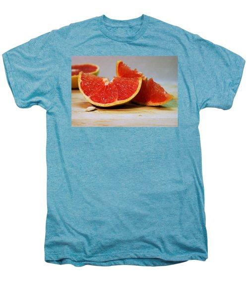 Grapefruit Slices Men's Premium T-Shirt by Joseph Skompski
