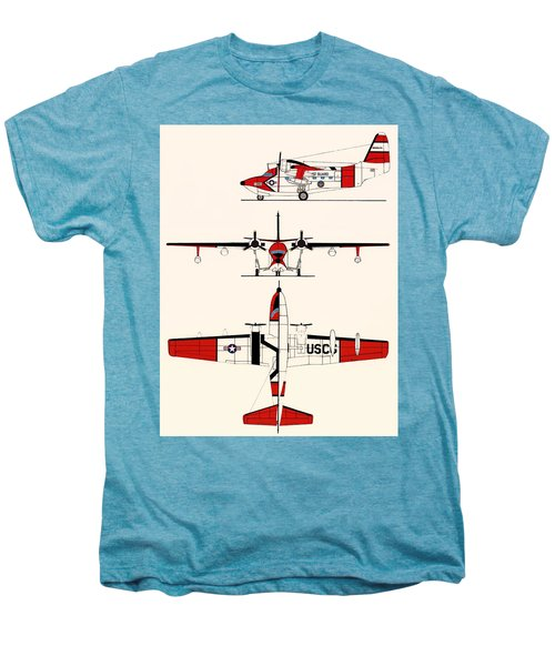 Grumman Hu-16e Albatross Men's Premium T-Shirt by Mountain Dreams