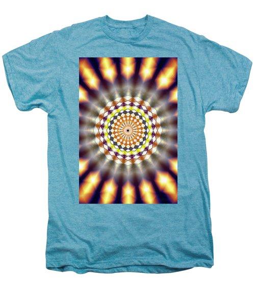 Harmonic Sphere Of Energy Men's Premium T-Shirt by Derek Gedney