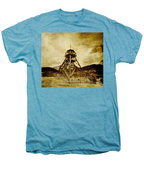 Helena-montana-fire Tower Men's Premium T-Shirt