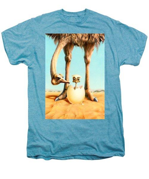 Hello Mum Men's Premium T-Shirt by Andrew Farley