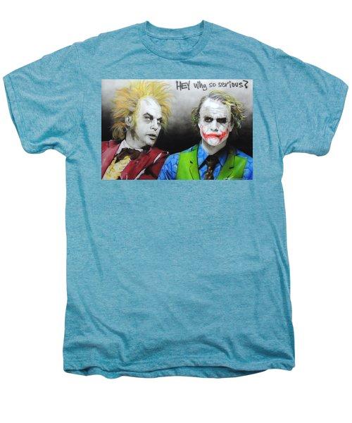 Hey, Why So Serious? Men's Premium T-Shirt
