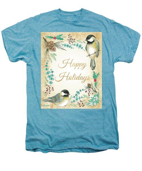 Holiday Wishes II Men's Premium T-Shirt by Elyse Deneige
