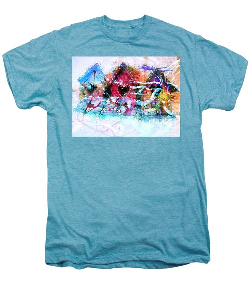 Home Through All Seasons Men's Premium T-Shirt