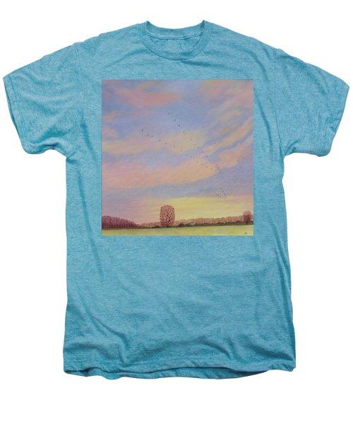 Homeward, 2004 Oil On Canvas Men's Premium T-Shirt by Ann Brain
