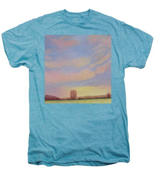 Homeward Men's Premium T-Shirt by Ann Brian