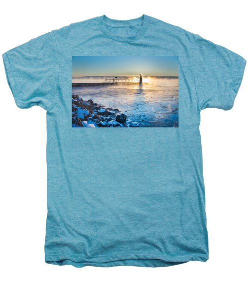 Icy Morning Mist Men's Premium T-Shirt by Bill Pevlor