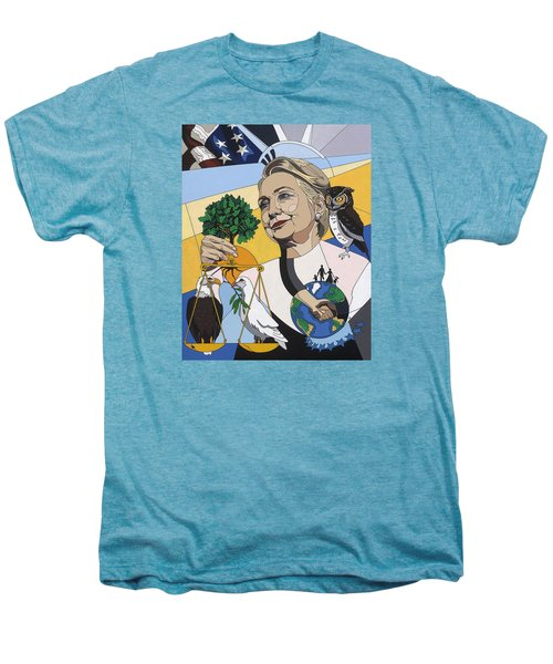 In Honor Of Hillary Clinton Men's Premium T-Shirt by Konni Jensen