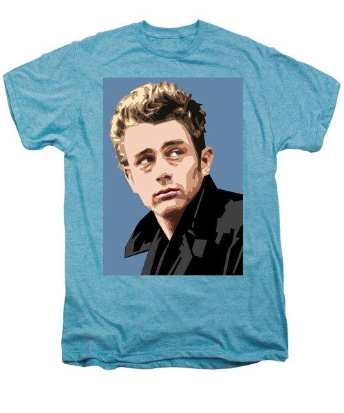 James Dean In Color Men's Premium T-Shirt