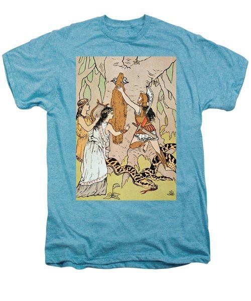 Jason Seizing The Golden Fleece Men's Premium T-Shirt