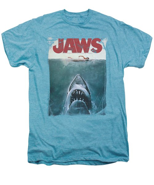 Jaws - Title Men's Premium T-Shirt by Brand A