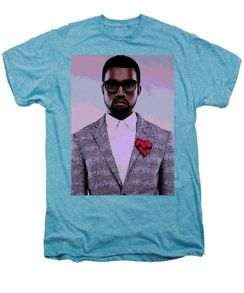 Kanye West Poster Men's Premium T-Shirt