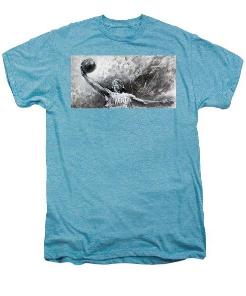 King James Lebron Men's Premium T-Shirt by Ylli Haruni