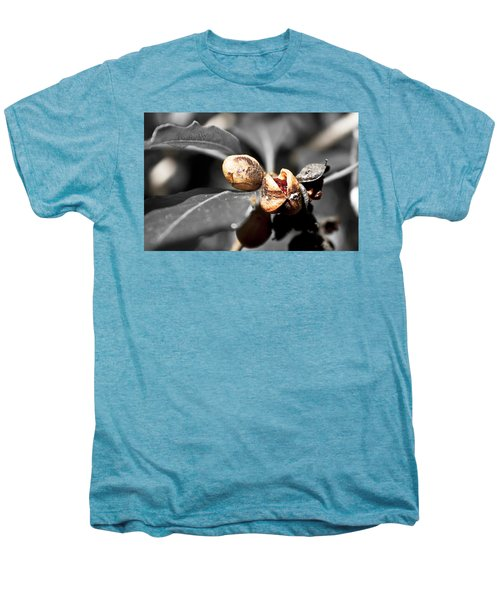 Men's Premium T-Shirt featuring the photograph Knew Seeds Of Complentation by Miroslava Jurcik