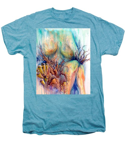 Lady In The Reef Men's Premium T-Shirt