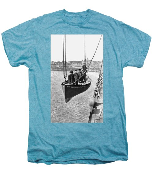 Lake Michigan Ferry Lifeboat Men's Premium T-Shirt