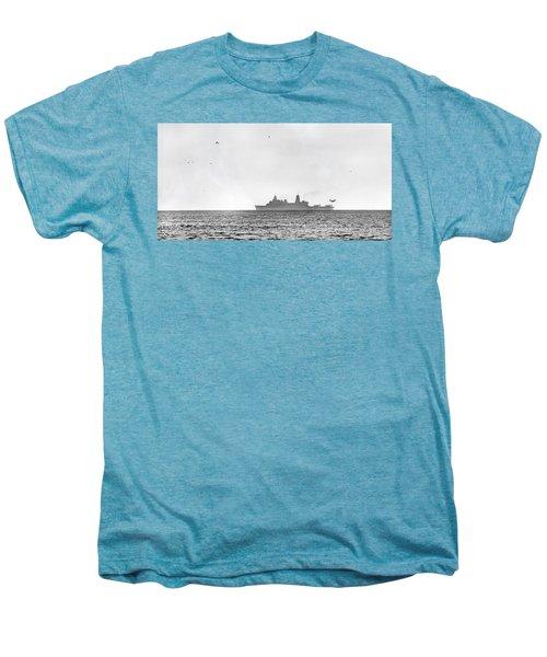 Landing On The Horizon Men's Premium T-Shirt by Betsy Knapp
