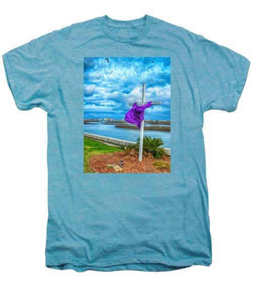 Lentin Cross Men's Premium T-Shirt