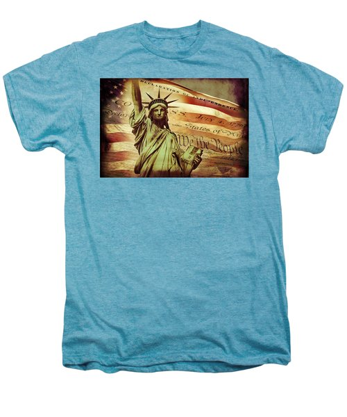 Declaration Of Independence Men's Premium T-Shirt