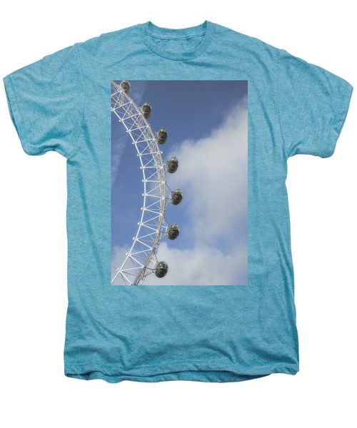 London Eye Men's Premium T-Shirt by Joana Kruse