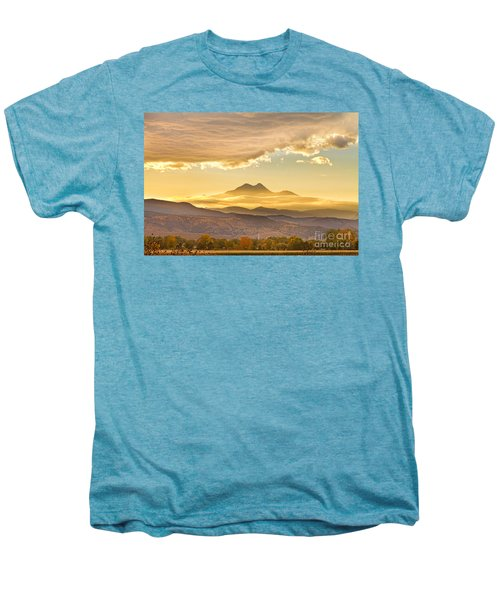 Longs Peak Autumn Sunset Men's Premium T-Shirt