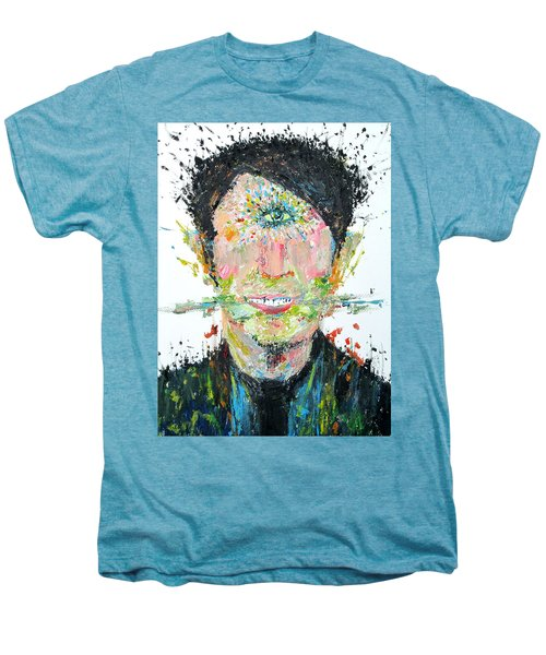 Love Me Do Men's Premium T-Shirt by Fabrizio Cassetta