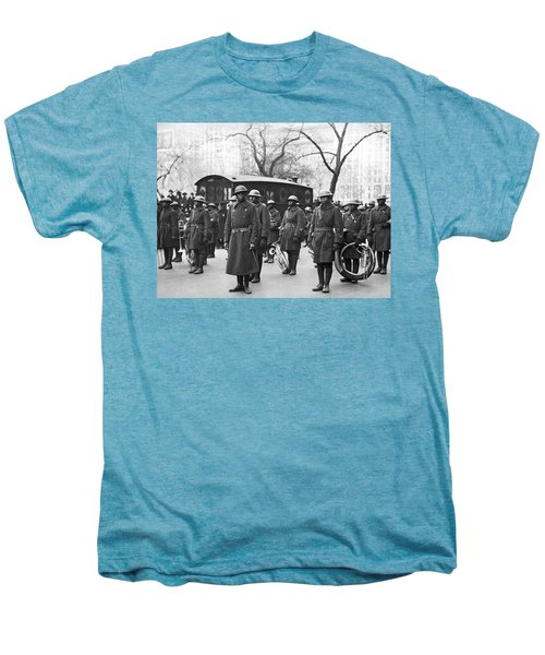 Lt. James Reese Europe's Band Men's Premium T-Shirt by Underwood Archives