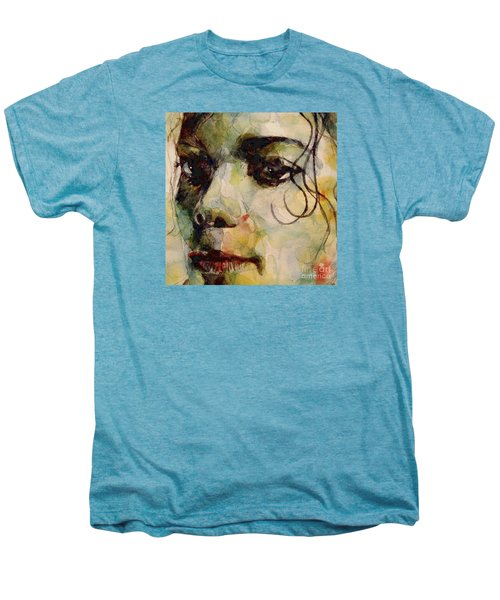 Man In The Mirror Men's Premium T-Shirt by Paul Lovering