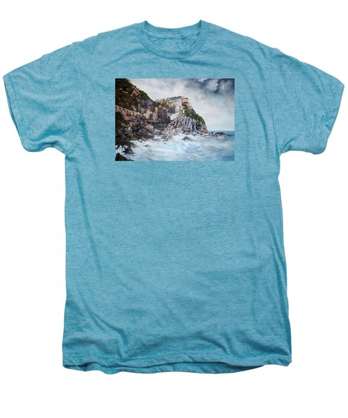 Manarola Italy Men's Premium T-Shirt by Jean Walker
