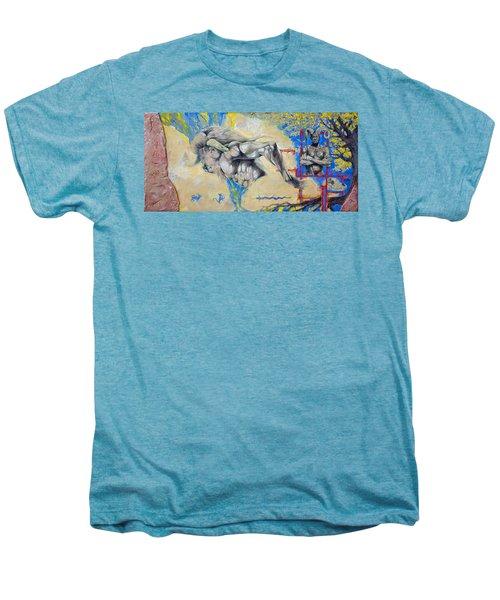 Minotaur Men's Premium T-Shirt by Derrick Higgins