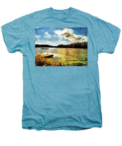 Mohegan Lake Gold Men's Premium T-Shirt