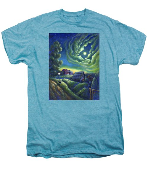 Moonlit Dreams Come True Men's Premium T-Shirt