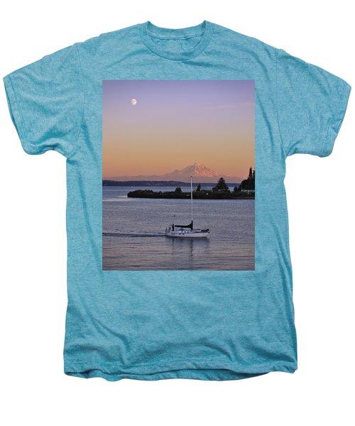 Mt. Rainier Afterglow Men's Premium T-Shirt