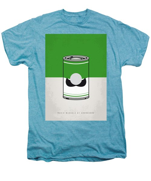 My Mario Warhols Minimal Can Poster-luigi Men's Premium T-Shirt